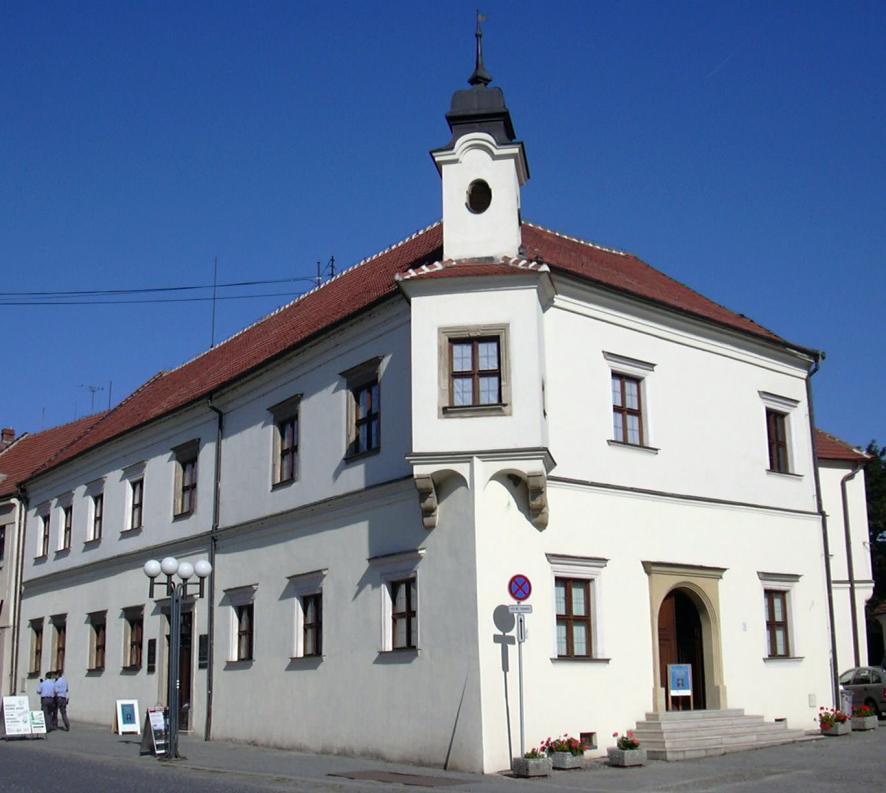 budova památníku Alfonse Muchy Ivančice