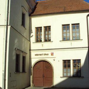 budova Městského úřadu Ivančice, odbor sociálních věcí
