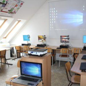 ZŠ TGM Ivančice - vybavení PC učebny