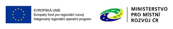 banner s logy EU a Ministerstva pro místní rozvoj ČR