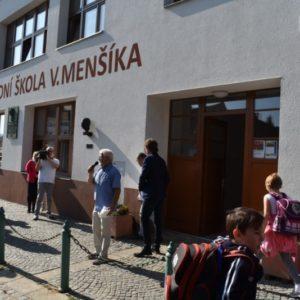budova ZŠ Menšíka