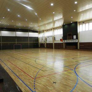 tělocvična městské sportovní haly Ivančice