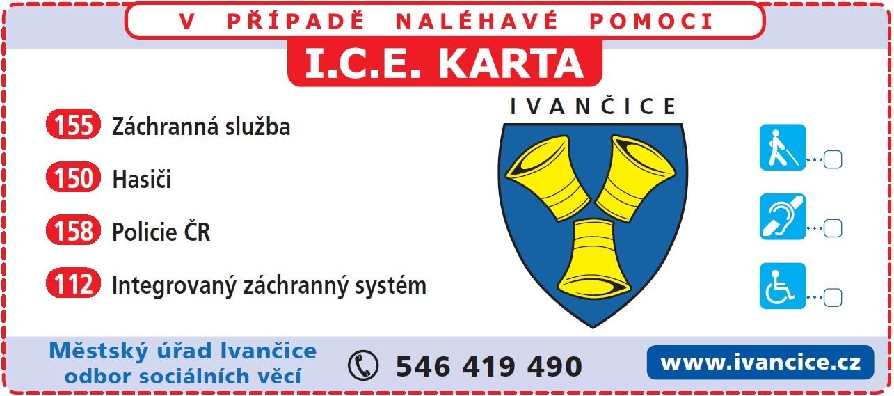 banner ICE karta
