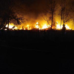 Požár Ivančice 27.10.2018 Ekotex