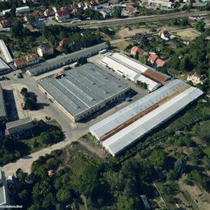 areál Ekotex 3D pohled Mapy.cz